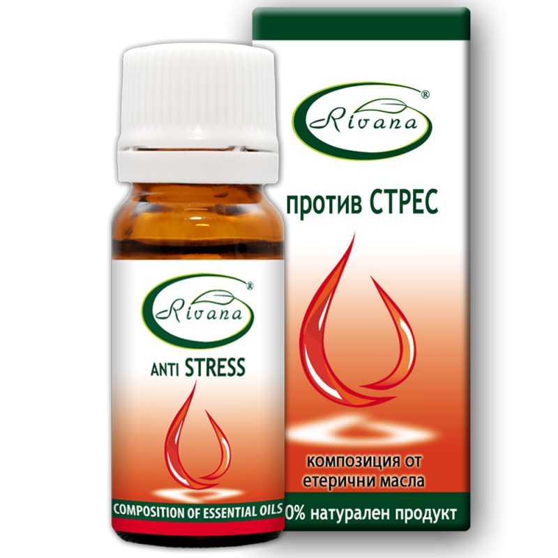 Stress - Combination of 100% pure essential oils.