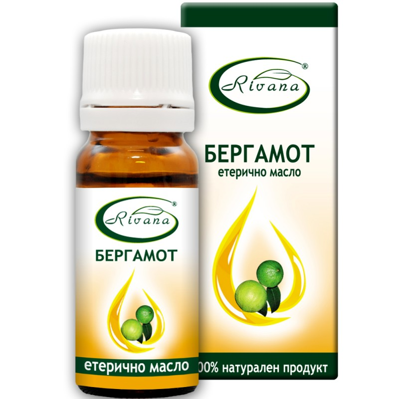 Bergamot Citrus bergamia - 100% essential oil.