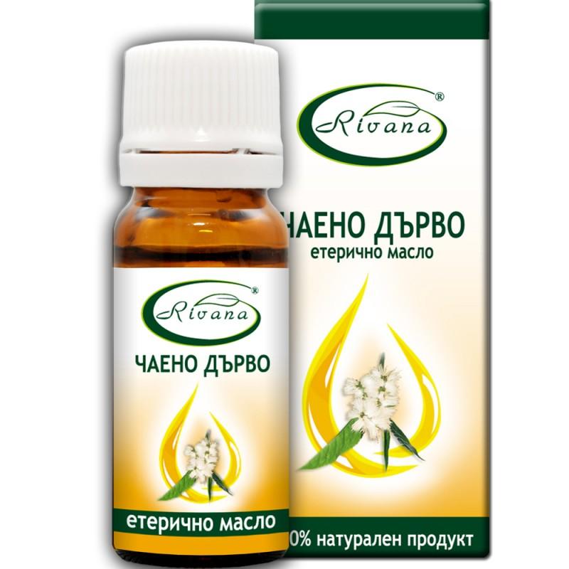 Масло от чаено дърво - Melaleuca alternifolia - 100% етерично масло.
