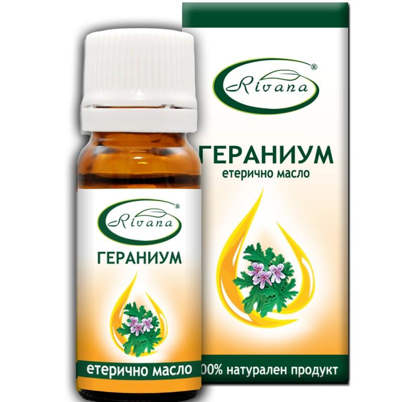 Гераниум - (Индрише) Pelargonium graveolens - 100% етерично масло.