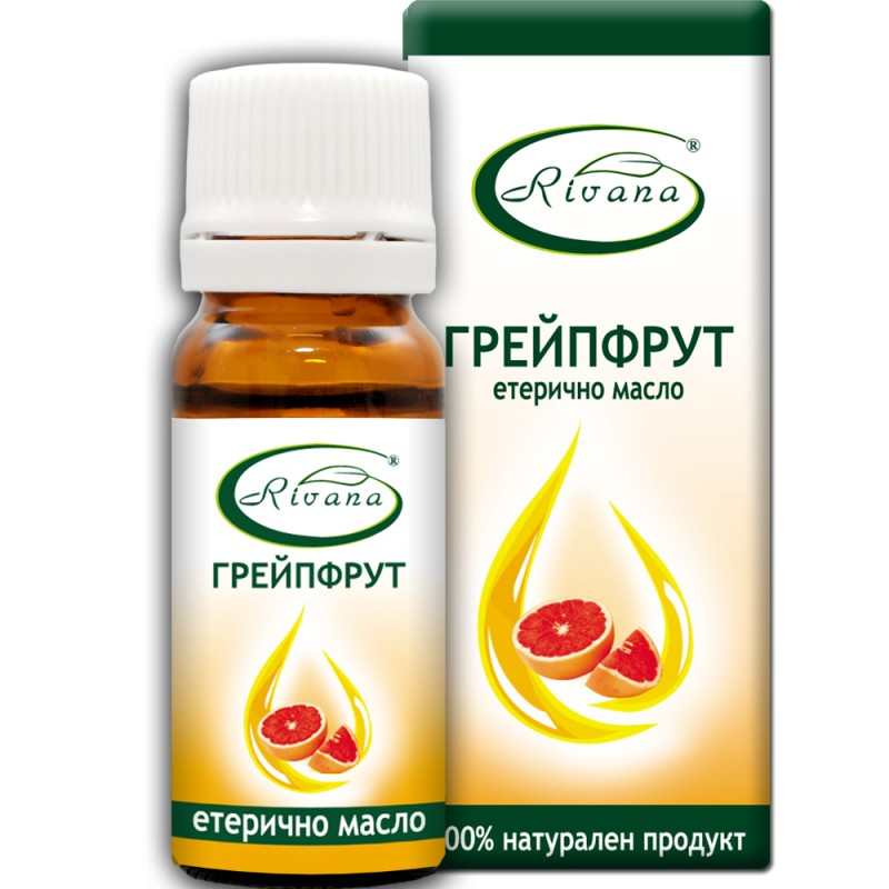 Грейпфрут - Citrus paradisi - 100% етерично масло.