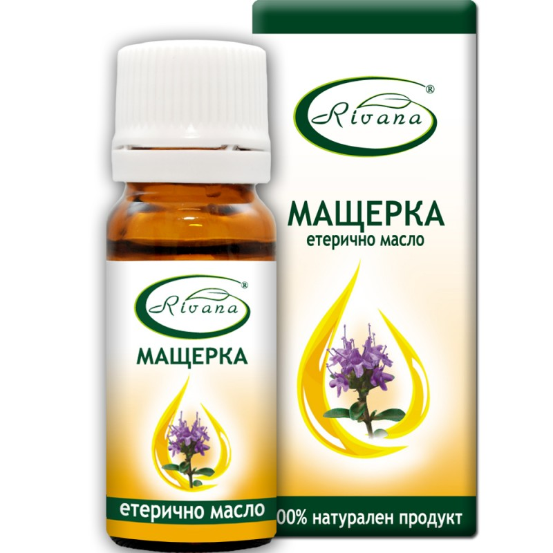 Мащерка - Thymus vulgaris - 100% етерично масло.