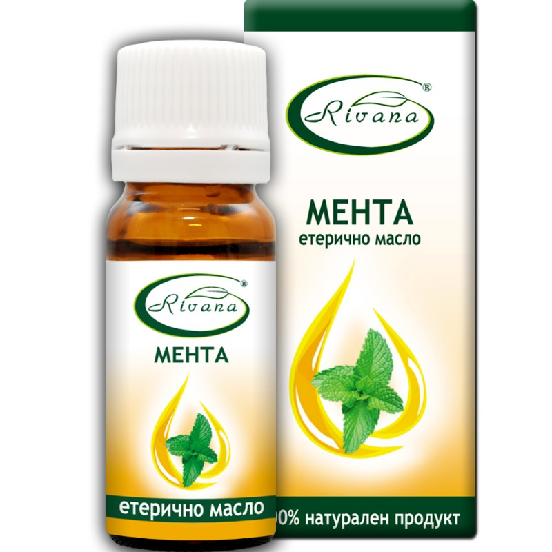 Ментово масло  - Mentha arvensis - 100% етерично масло.