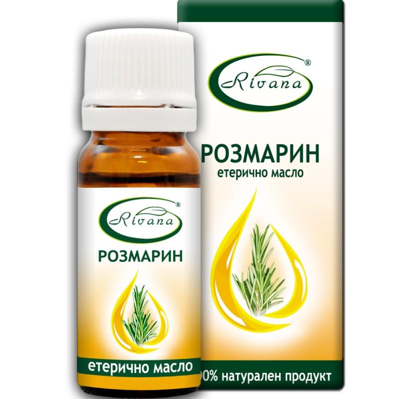 Розмарин - Rosmarinus officinalis - 100% етерично масло.