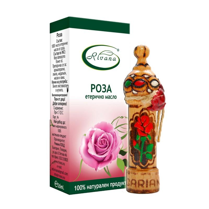 Rose -  Rosa damascene - 100% Essential Oil.