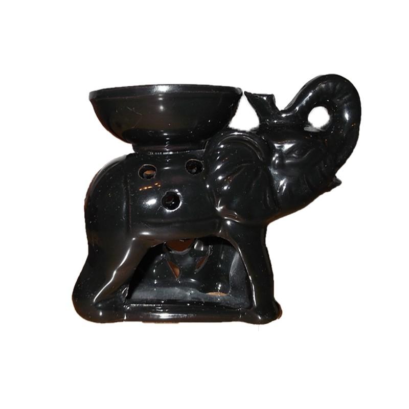 Аромалампа - Слон- Черен
