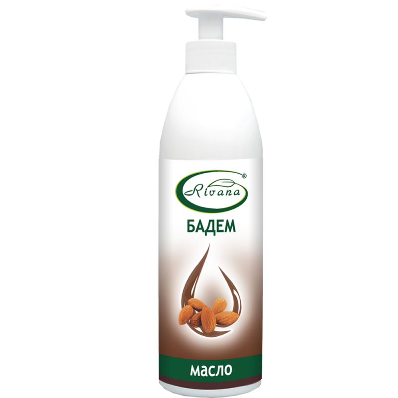 Almond oil - 100% natural product - no preservatives - 500 ml.