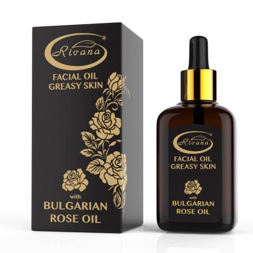 Facial oil-Greasy skin-Rose oil