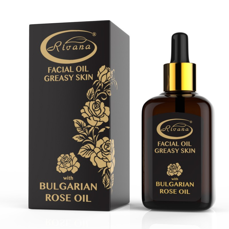 Facial oil-Greasy skin-Rose oil